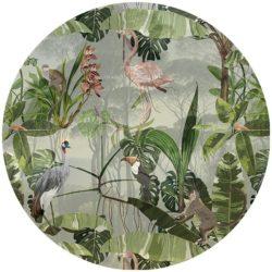 zelfklevend-behang-cirkel-ZANO-zacht groen