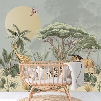 jungle behang-BUNGO-