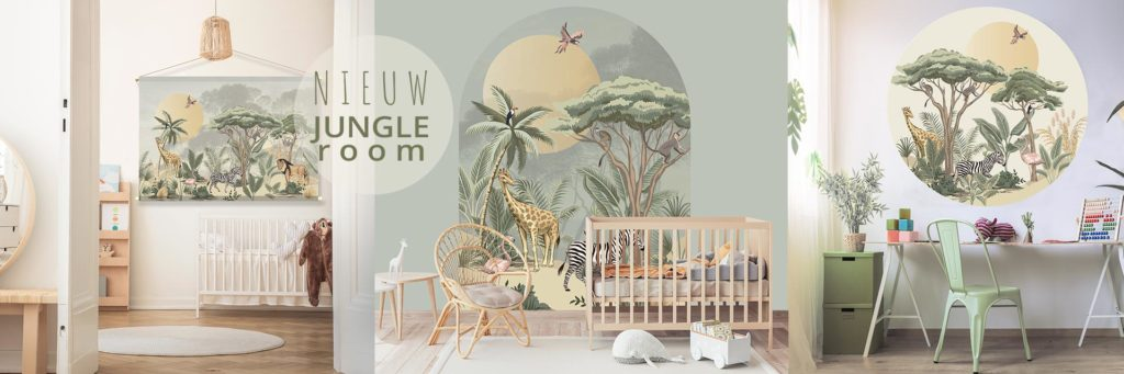 kinderkamer-jungle-room