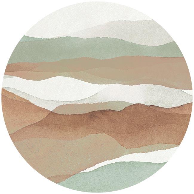 zelfklevend-behang-cirkel-ZUSHI-zachtgroen-en-terracotta