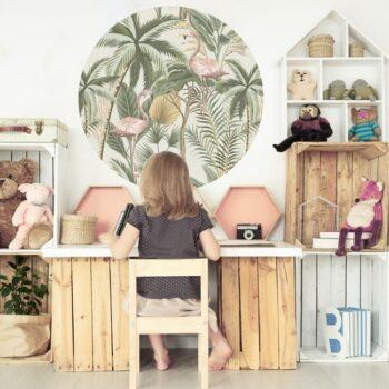 zelfklevend-behang-cirkel-ZIONE-in-kinderkamer