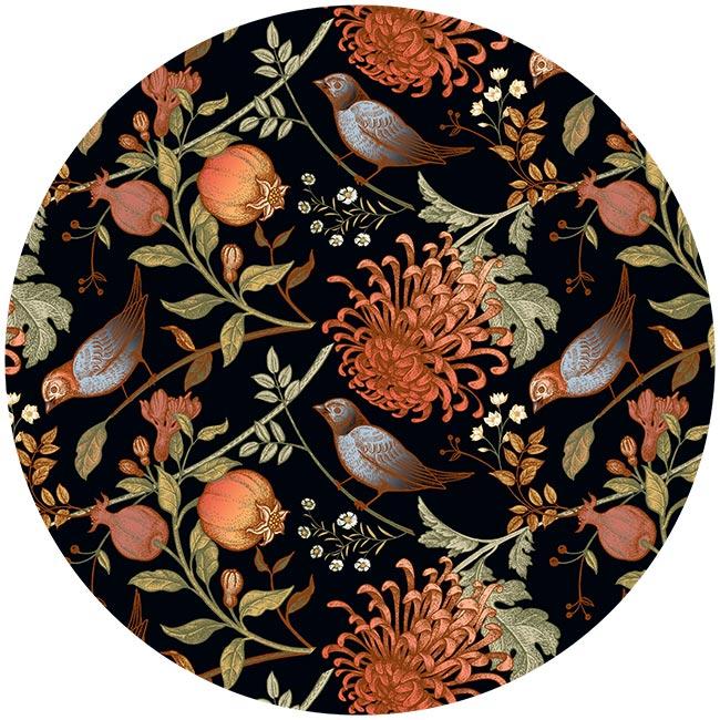 zelfklevend-behang-cirkel-ZAVI-zwart